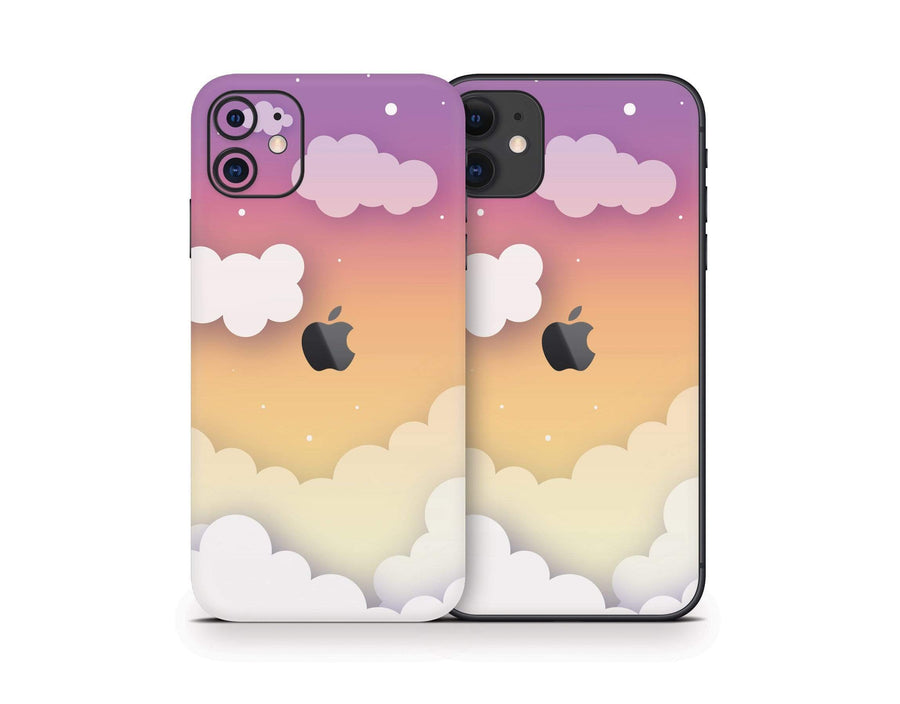 Sticky Bunny Shop iPhone 11 Sunset Clouds In The Sky iPhone 11 Skin