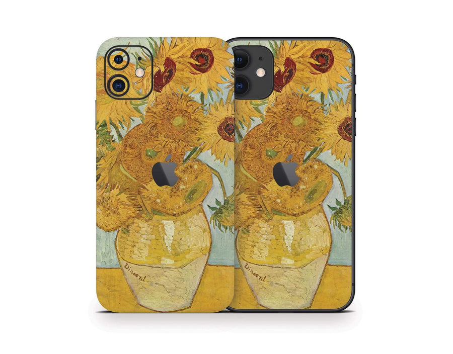 Sticky Bunny Shop iPhone 11 Twelve Sunflowers By Van Gogh iPhone 11 Skin