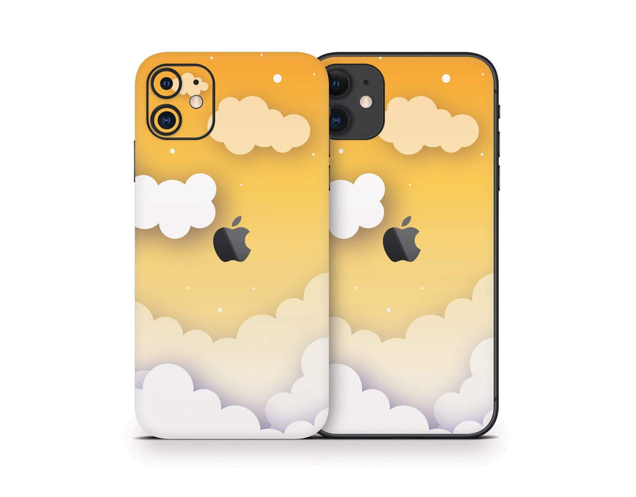 Sticky Bunny Shop iPhone 11 Yellow Clouds In The Sky iPhone 11 Skin