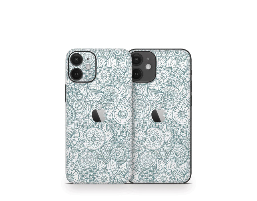 Sticky Bunny Shop iPhone 12 Mini Abstract Floral iPhone 12 Mini Skin