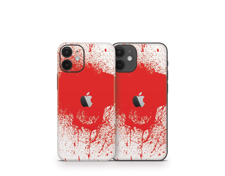 Sticky Bunny Shop iPhone 12 Mini Blood Spatter iPhone 12 Mini Skin