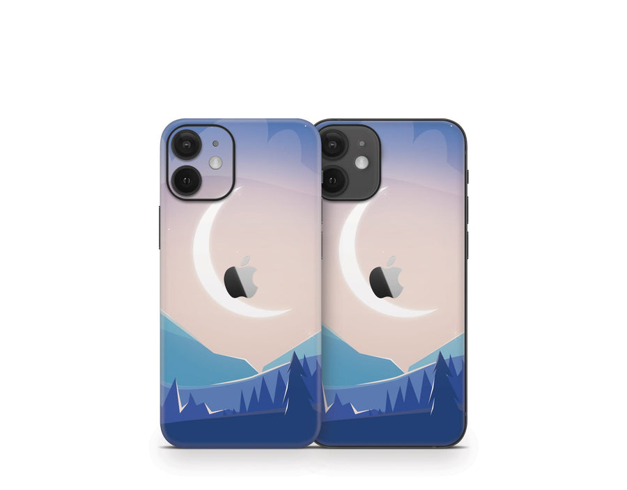 Sticky Bunny Shop iPhone 12 Mini Lunar Mountains iPhone 12 Mini Skin