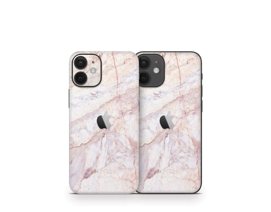 Sticky Bunny Shop iPhone 12 Mini Rose Gold Marble iPhone 12 Mini Skin