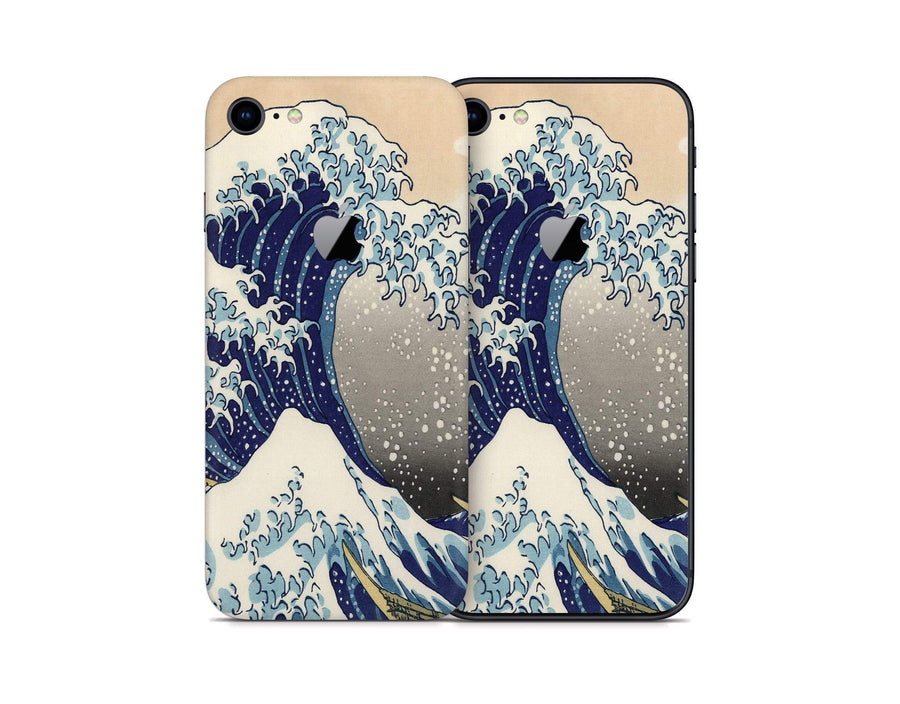 Sticky Bunny Shop iPhone 8 Great Wave Off Kanagawa By Hokusai iPhone 8 Skin