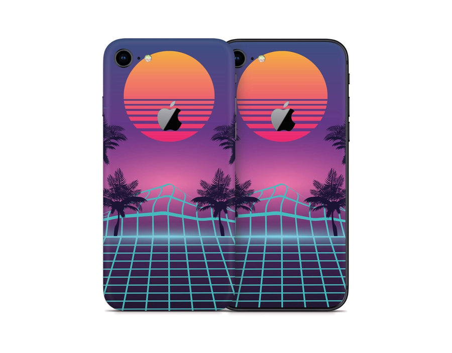 Sticky Bunny Shop iPhone 8 iPhone 8 Vaporwave iPhone 8 Skin