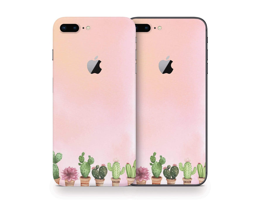 Sticky Bunny Shop iPhone 8 Plus Watercolor Cactus iPhone 8 Plus Skin