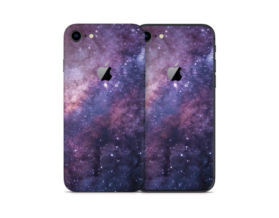 Sticky Bunny Shop iPhone 8 Purple Galaxy iPhone 8 Skin