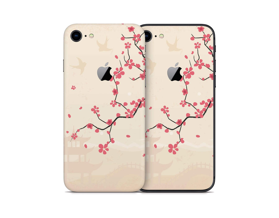 Sticky Bunny Shop iPhone 8 Sakura Blossoms iPhone 8 Skin