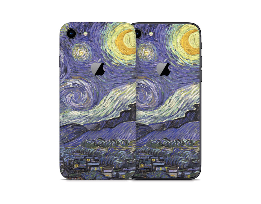 Sticky Bunny Shop iPhone 8 Starry Night By Van Gogh iPhone 8 Skin
