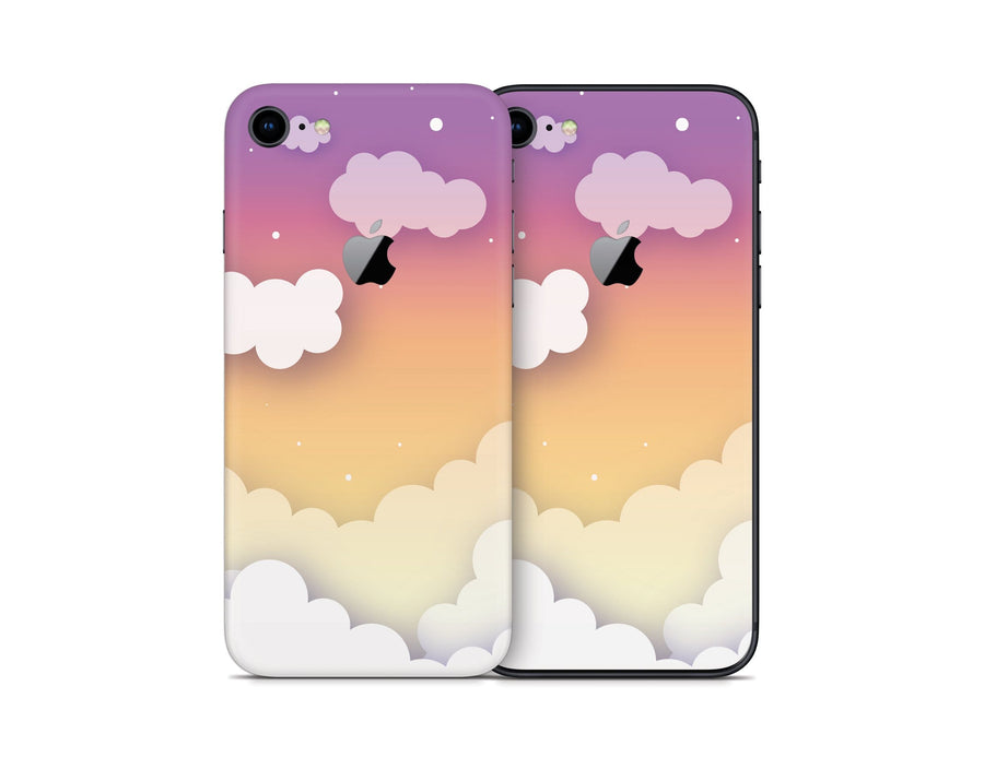 Sticky Bunny Shop iPhone 8 Sunset Clouds In The Sky iPhone 8 Skin