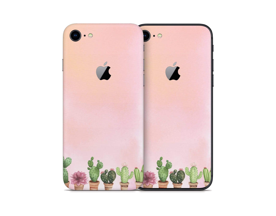 Sticky Bunny Shop iPhone 8 Watercolor Cactus iPhone 8 Skin