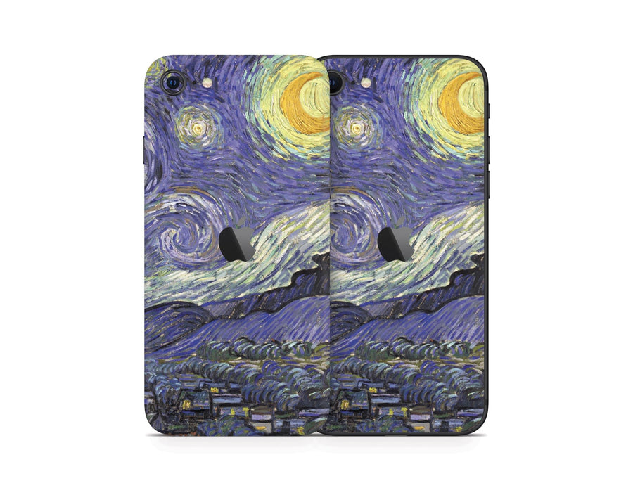 Sticky Bunny Shop iPhone SE (2nd Gen) Starry Night By Van Gogh iPhone SE (2nd Gen) Skin