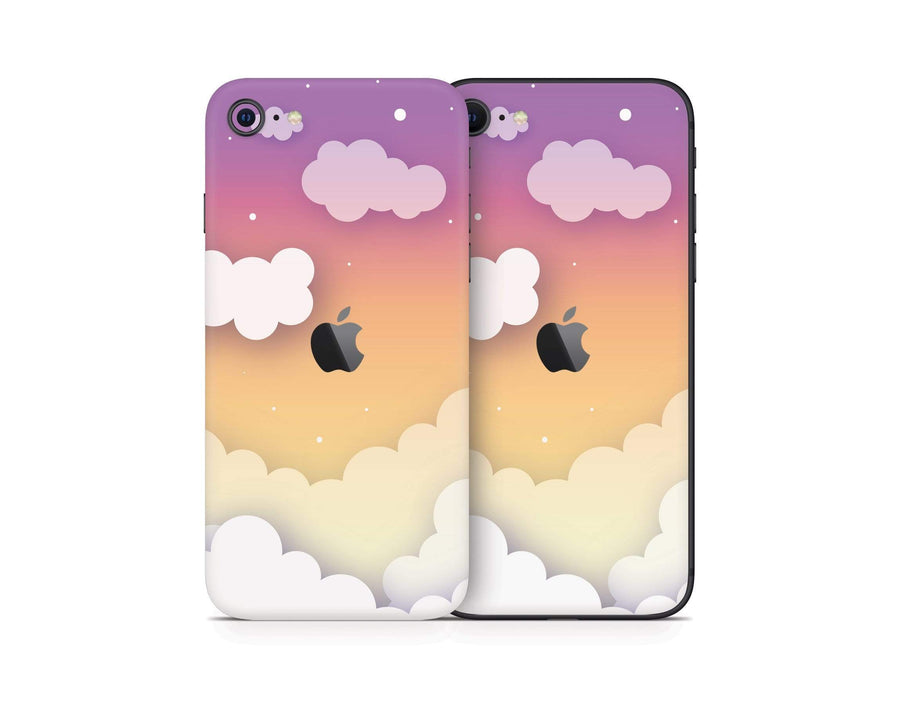 Sticky Bunny Shop iPhone SE (2nd Gen) Sunset Clouds In The Sky iPhone SE (2nd Gen) Skin