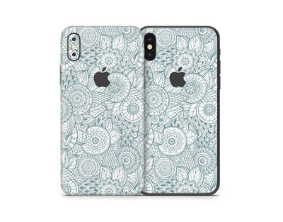 Sticky Bunny Shop iPhone Skins Abstract Floral iPhone Skin