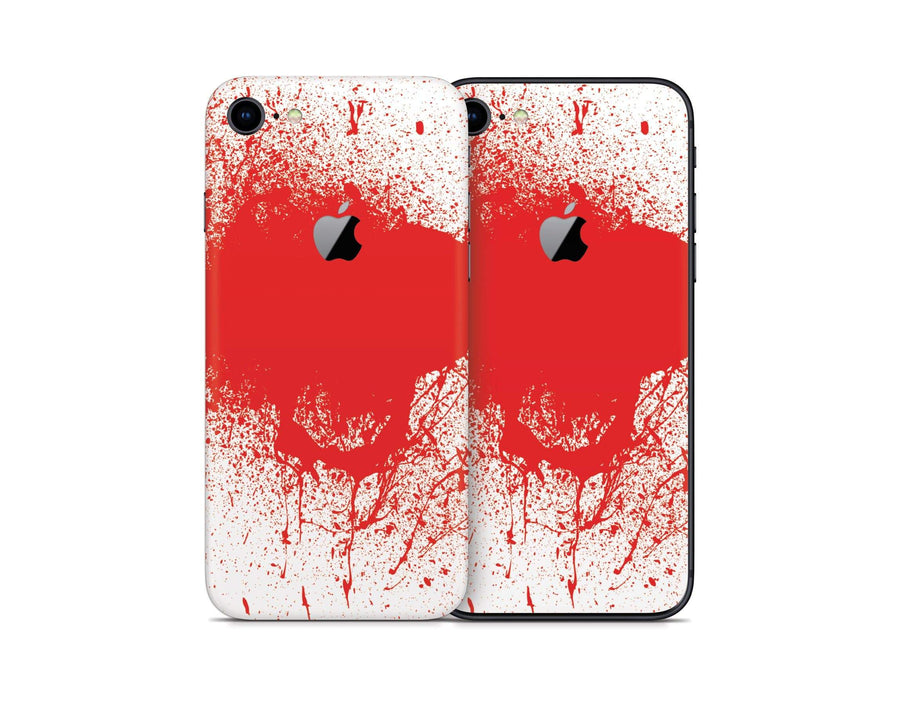 Sticky Bunny Shop iPhone Skins Blood Spatter iPhone Skin