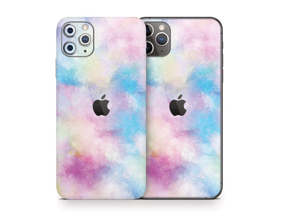 Sticky Bunny Shop iPhone Skins Cotton Candy Watercolor iPhone Skin