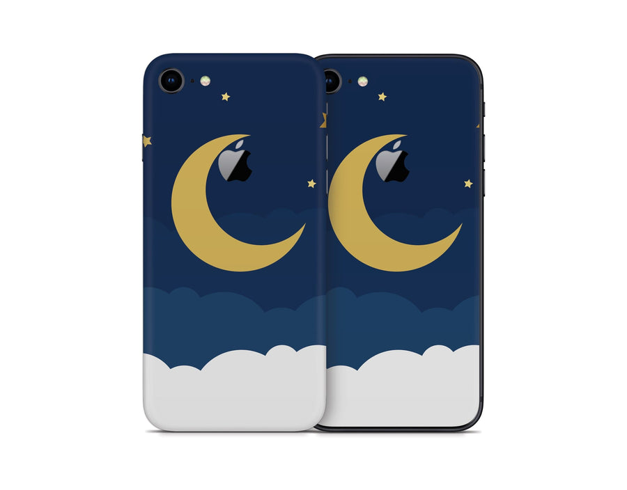 Sticky Bunny Shop iPhone Skins Dark Lunar Sky iPhone Skin