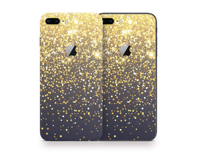Sticky Bunny Shop iPhone Skins Gold Simple Dots iPhone Skin