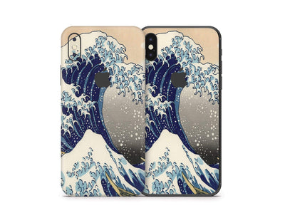 Sticky Bunny Shop iPhone Skins Great Wave Off Kanagawa By Hokusai iPhone Skin