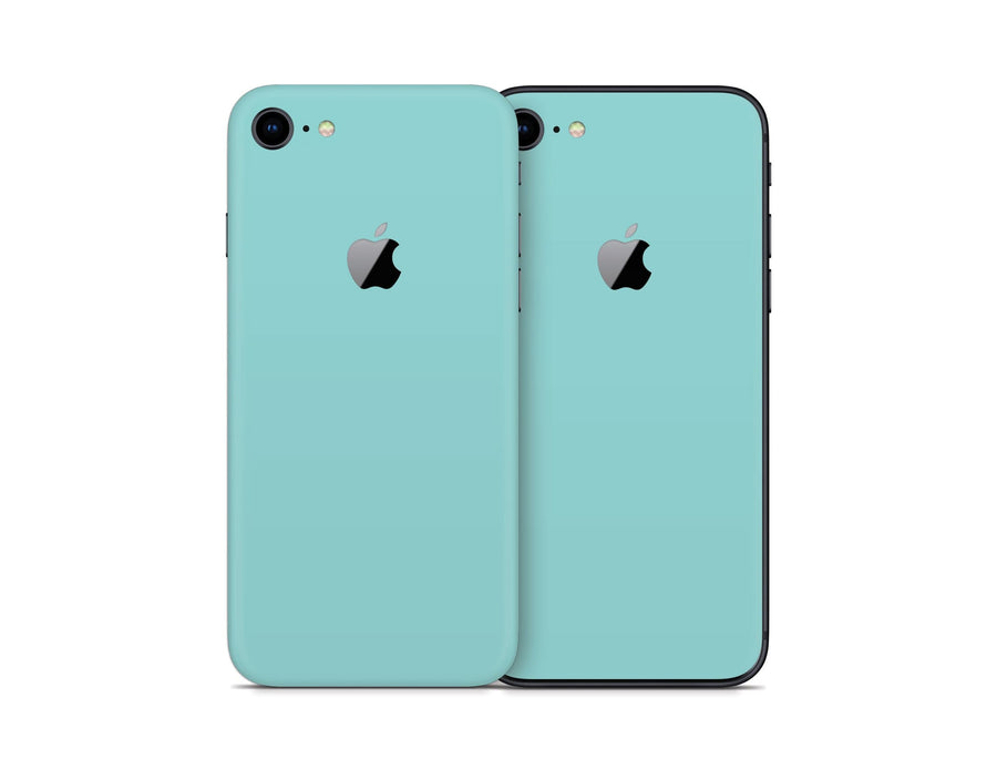 Sticky Bunny Shop iPhone Skins Light Teal iPhone Skin