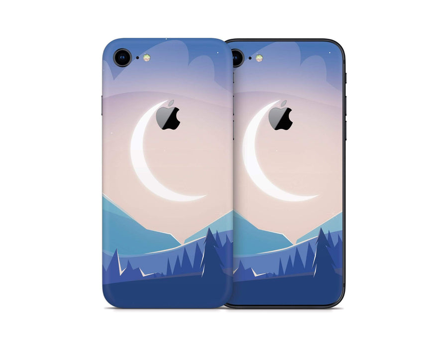 Sticky Bunny Shop iPhone Skins Lunar Mountains iPhone Skin
