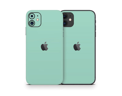 Sticky Bunny Shop iPhone Skins Mint iPhone Skin