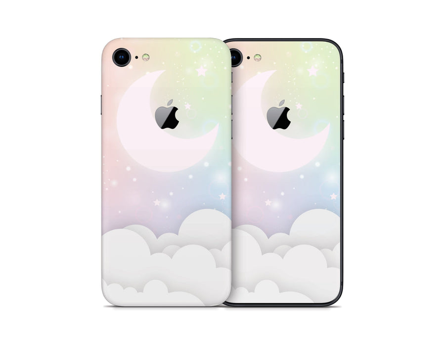 Sticky Bunny Shop iPhone Skins Pastel Lunar Sky iPhone Skin