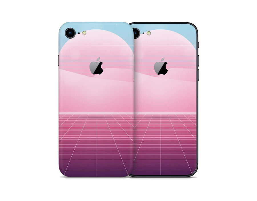 Sticky Bunny Shop iPhone Skins Pastel Vaporwave iPhone Skin