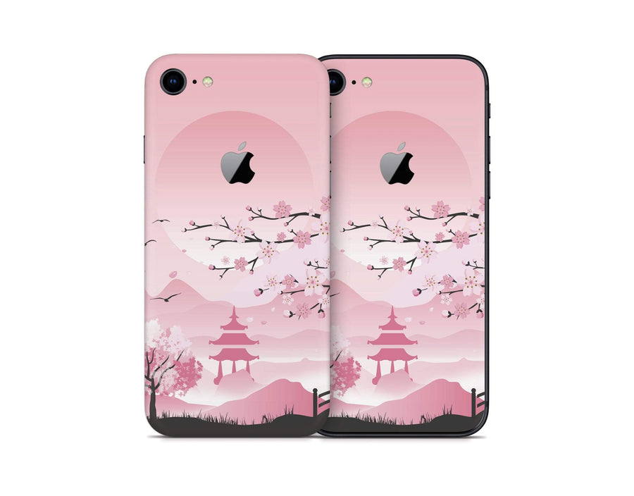 Sticky Bunny Shop iPhone Skins Pink Sakura iPhone Skin