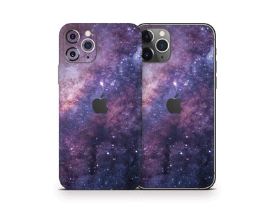 Sticky Bunny Shop iPhone Skins Purple Galaxy iPhone Skin