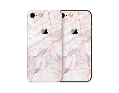 Sticky Bunny Shop iPhone Skins Rose Gold Marble iPhone Skin