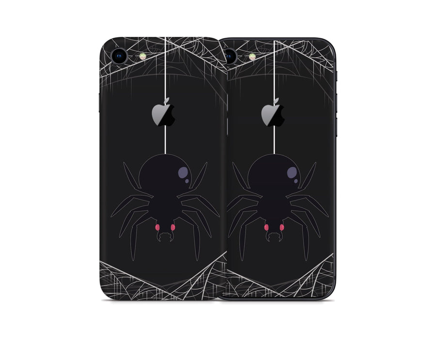 Sticky Bunny Shop iPhone Skins Spooky Spider iPhone Skin