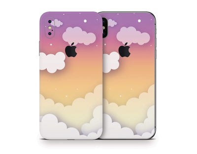 Sticky Bunny Shop iPhone Skins Sunset Clouds In The Sky iPhone Skin