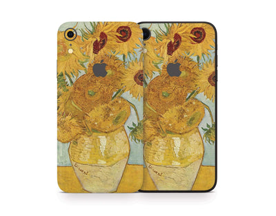 Sticky Bunny Shop iPhone Skins Twelve Sunflowers By Van Gogh iPhone Skin