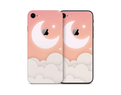 Sticky Bunny Shop iPhone Skins Warm Lunar Sky iPhone Skin