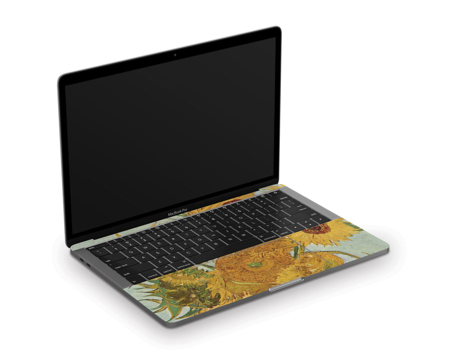 "Sticky Bunny Shop MacBook Pro 13"" (2020) Twelve Sunflowers By Van Gogh MacBook Pro 13"" (2020) Skin"