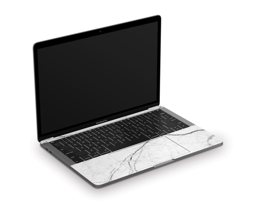 "Sticky Bunny Shop MacBook Pro 13"" (2020) White Marble MacBook Pro 13"" (2020) Skin"