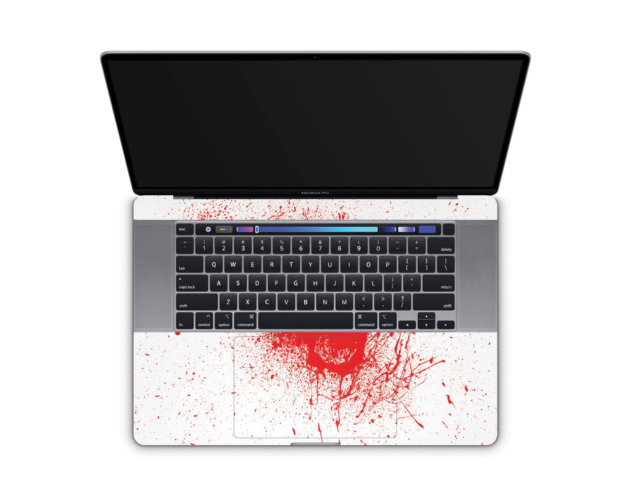 "Sticky Bunny Shop MacBook Pro 16"" (2019) Blood Spatter MacBook Pro 16"" (2019) Skin"