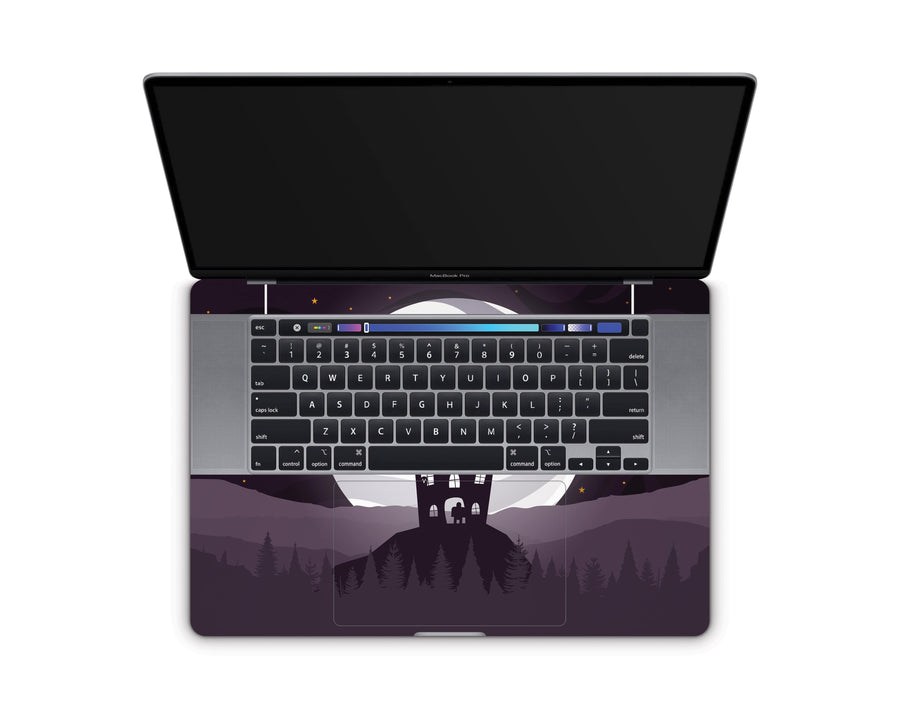 "Sticky Bunny Shop MacBook Pro 16"" (2019) Spooky Ghosts Moon Edition MacBook Pro 16"" (2019) Skin"