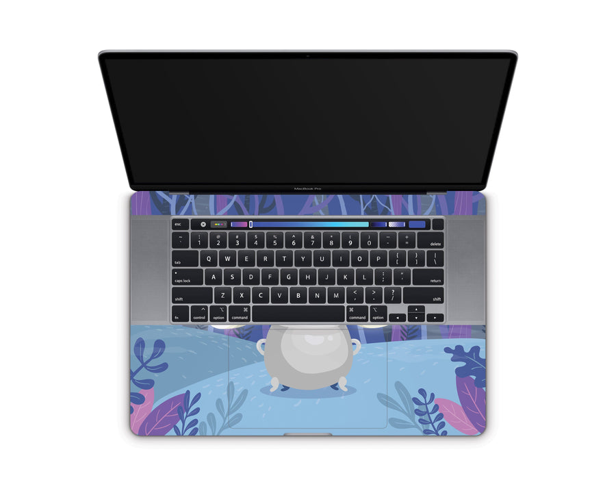 "Sticky Bunny Shop MacBook Pro 16"" (2019) Spooky Ghosts Purple Edition MacBook Pro 16"" (2019) Skin"