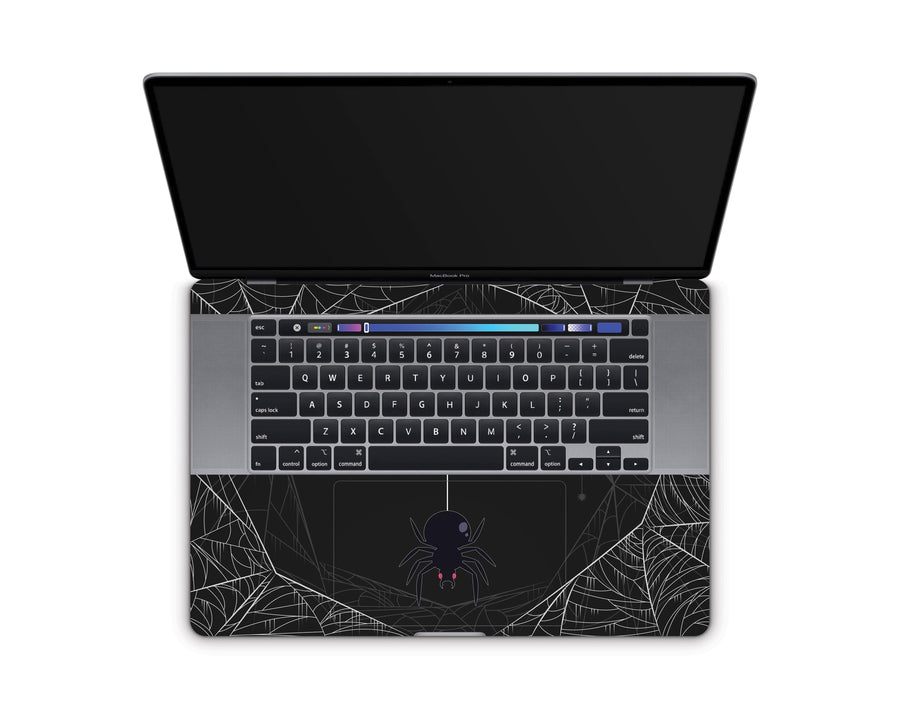 "Sticky Bunny Shop MacBook Pro 16"" (2019) Spooky Spider MacBook Pro 16"" (2019) Skin"