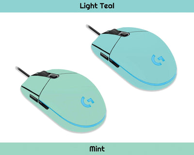 Sticky Bunny Shop Mouse Skins Cute Solid Pastel Logitech G203 Prodigy Mouse Skin | Choose From A Variety Of Color Options