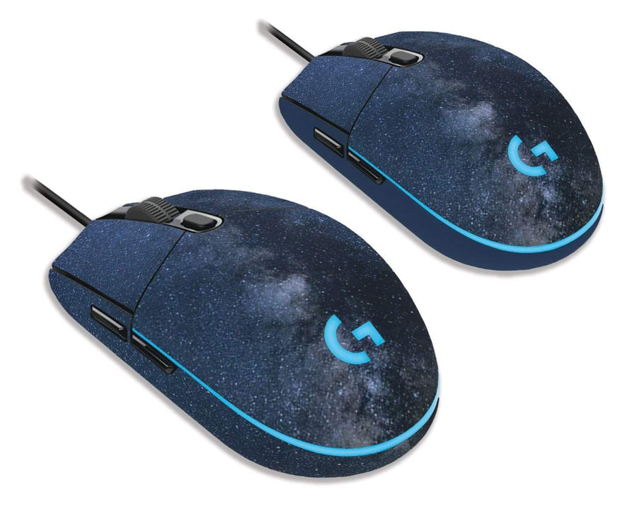 Sticky Bunny Shop Mouse Skins Milky Way Night Sky Logitech G203 Prodigy Mouse Skin