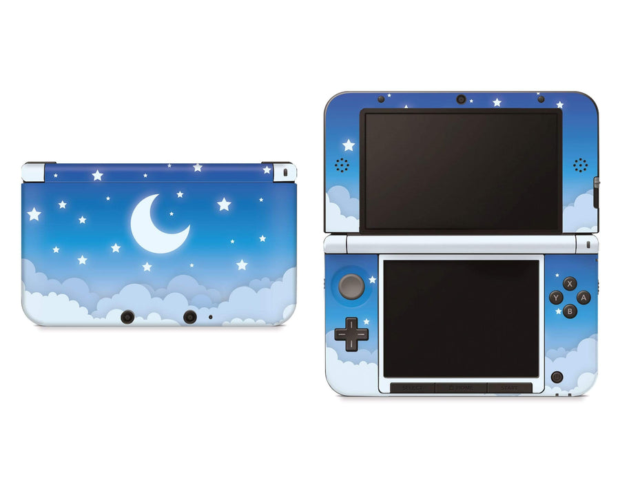 Sticky Bunny Shop Nintendo 3DS XL New 3DS XL Blue Lunar Sky Nintendo 3DS XL And New 3DS XL Skin