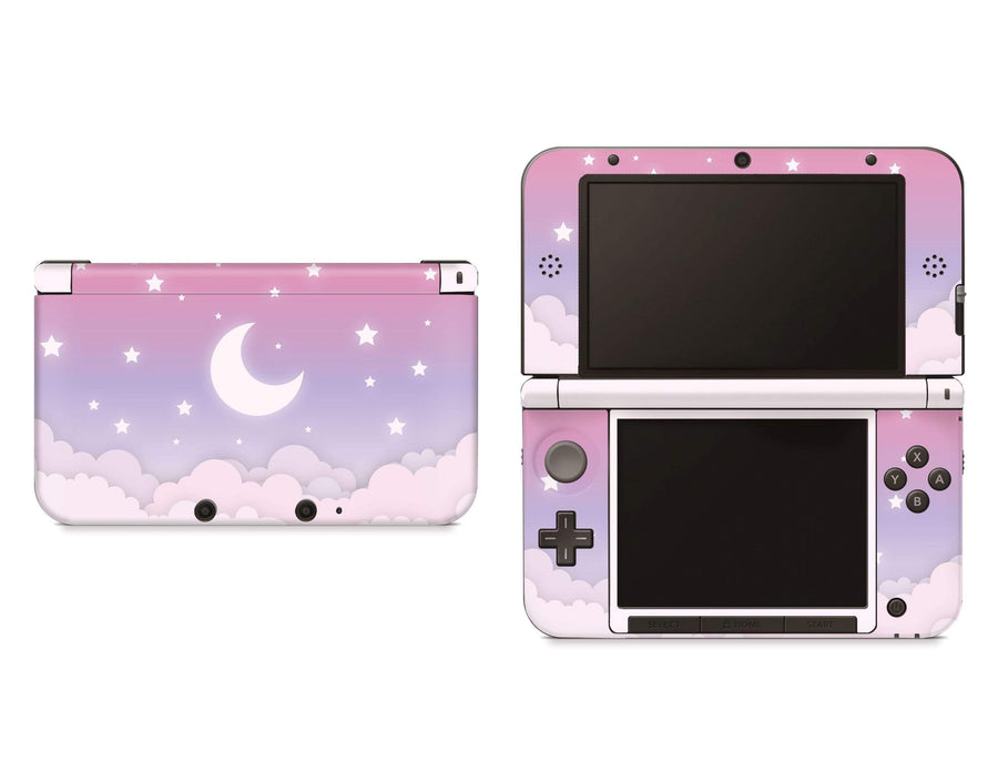 Sticky Bunny Shop Nintendo 3DS XL 3DS XL Cute Lunar Sky Nintendo 3DS XL And New 3DS XL Skin