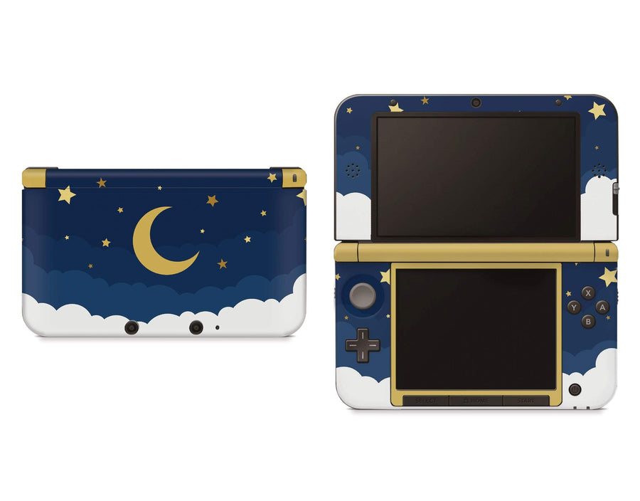 Sticky Bunny Shop Nintendo 3DS XL 3DS XL Dark Lunar Sky Nintendo 3DS XL And New 3DS XL Skin