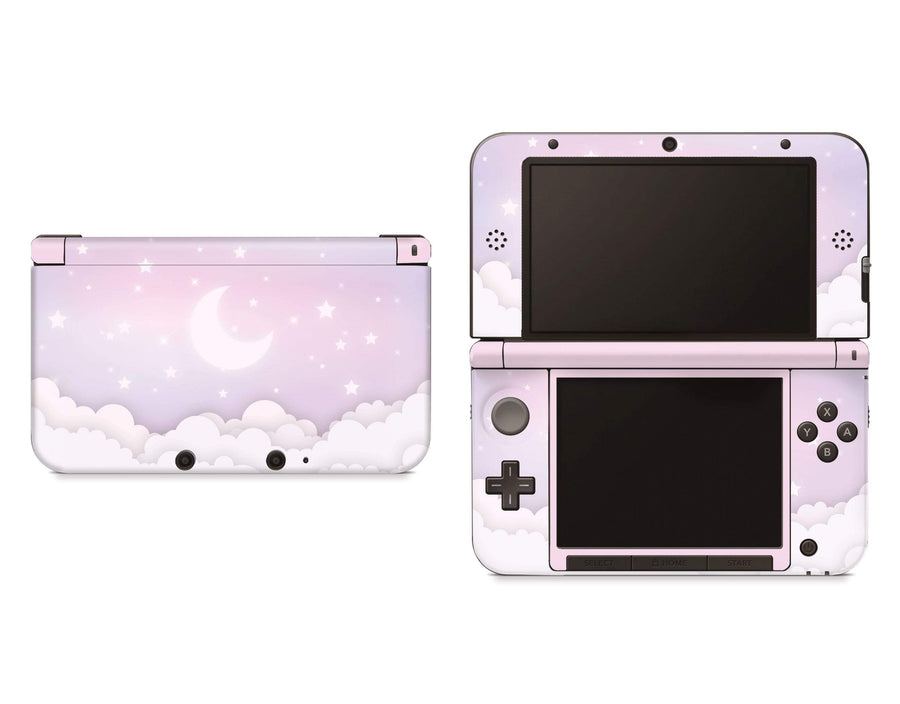 Sticky Bunny Shop Nintendo 3DS XL 3DS XL Lavender Lunar Sky Nintendo 3DS XL And New 3DS XL Skin