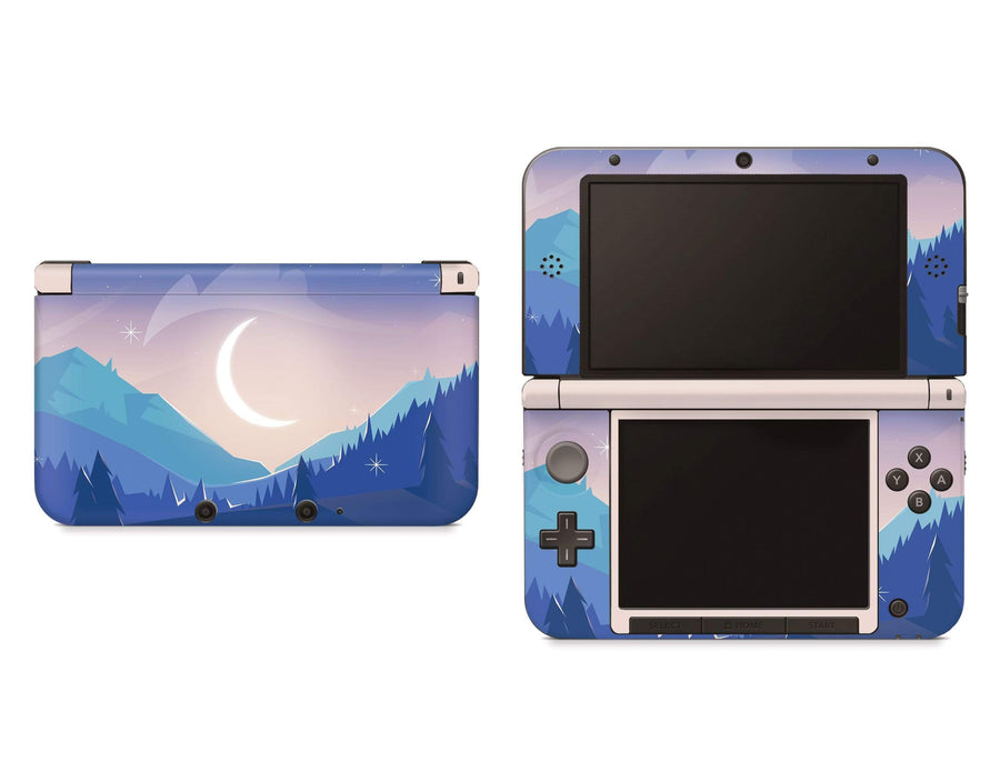 Sticky Bunny Shop Nintendo 3DS XL New 3DS XL Lunar Mountains Nintendo 3DS XL And New 3DS XL Skin