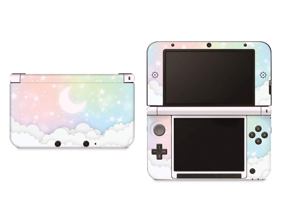 Sticky Bunny Shop Nintendo 3DS XL New 3DS XL Pastel Lunar Sky Nintendo 3DS XL And New 3DS XL Skin