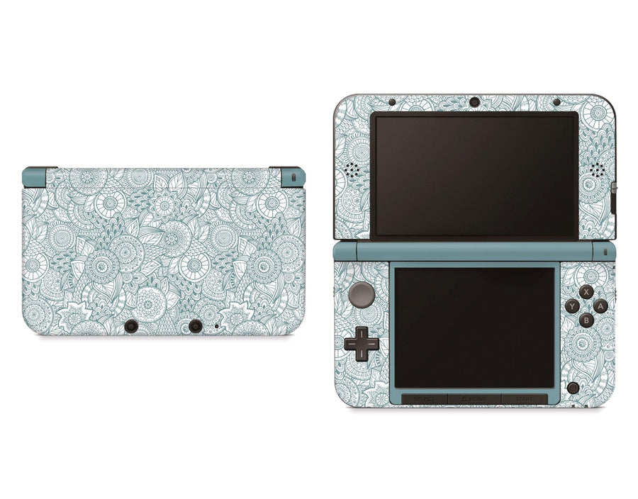 Sticky Bunny Shop Nintendo 3DS XL New 3DS XL Abstract Floral Nintendo 3DS XL Skin